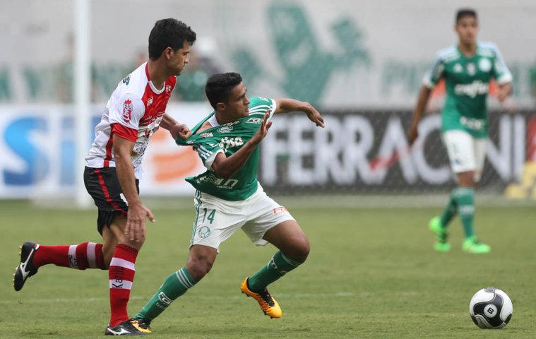 Na volta ao Allianz Parque, Palmeiras sofre o primeiro revés no Paulistão deste ano. (Cesar Greco/Ag. Palmeiras/Divulgação)