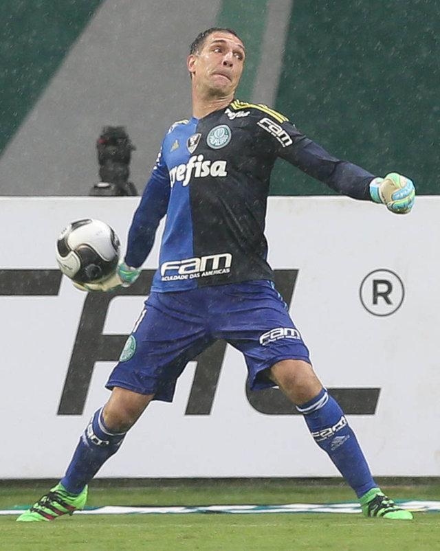 """""""Nosso objetivo é melhorar, mas eu acho que já demonstramos que estamos no caminho certo."""" (Cesar Greco/Ag. Palmeiras/Divulgação)"""