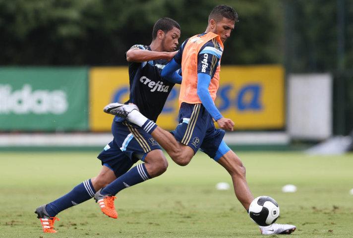 Rafael Marques é um dos relacionados para o clássico contra o Santos. (Cesar Greco/Ag. Palmeiras/Divulgação)