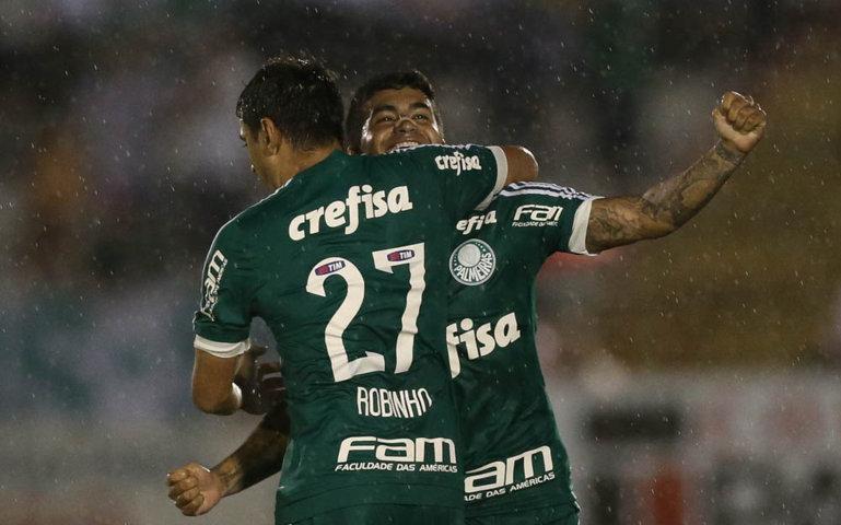 Fora de casa, Palmeiras encarou o Botafogo-SP e estreou com vitória no Paulista. (Cesar Greco/Ag.Palmeiras/Divulgação)
