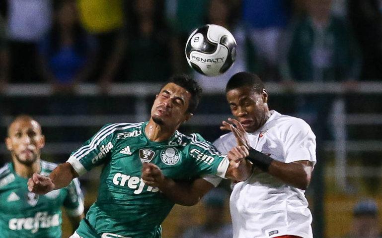 Palmeiras acabou derrotada pelo placar de 2 a 1. (Cesar Greco/Ag. Palmeiras/Divulgação)