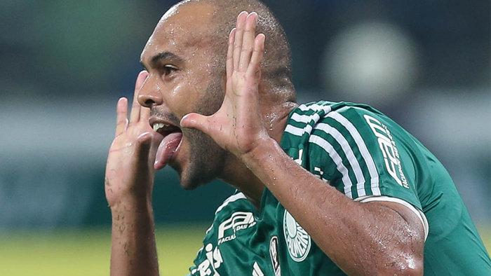 Alecsandro fez o primeiro gol da vitória alviverde no Allianz Parque. (Cesar Greco/Ag.Palmeiras/Divulgação)