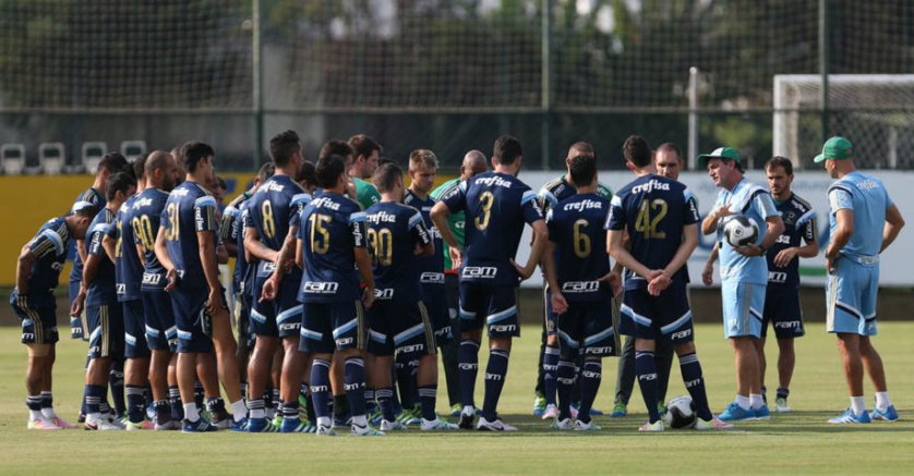 Cuca divulgou lista com 23 relacionados para enfrentar o São Bernardo, nas quartas de final do Campeonato Paulista. (Cesar Greco/Ag.Palmeiras/Divulgação)