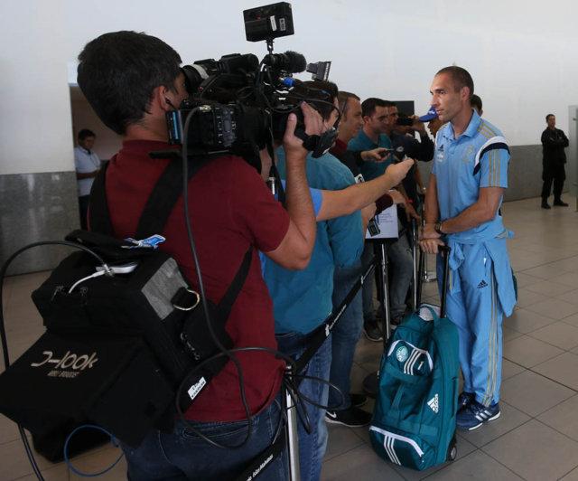 Fernando Prass minimizou imprevisto e valorizou as horas a mais de descanso para o elenco palestrino. (Cesar Greco/Ag. Palmeiras/Divulgação)