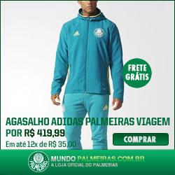 Agasalho Adidas Palmeiras Viagem