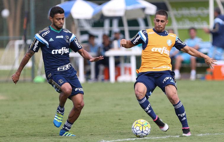 Verdão encerrou trabalhos em Atibaia-SP nesta quinta-feira (12). (Cesar Greco/Ag.Palmeiras/Divulgação)