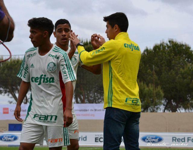 Verdão segue com 100% de aproveitamento no Mundial de Clubes Sub-17. (Divulgação)