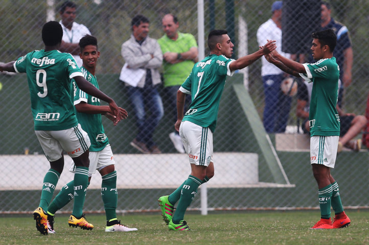 Jogando em casa, Verdão estreou com goleada por 4 a 0 neste sábado (07). (Fabio Menotti/Ag.Palmeiras/Divulgação)