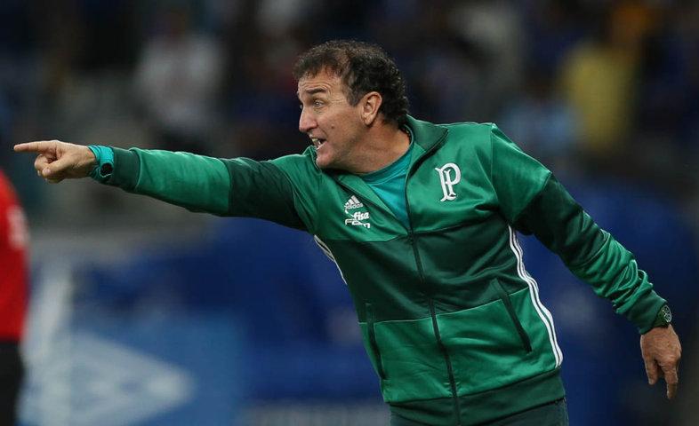 'Tem dias que as coisas não surtem o efeito que você quer', disse o técnico Cuca. (Cesar Greco/Ag Palmeiras/Divulgação)
