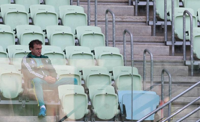 Palmeiras realizou, no Allianz Parque, o último treino antes do jogo diante do Atlético-MG. (Cesar Greco/Ag Palmeiras/Divulgação)