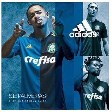 Banner divulgado segue o padrão utilizado pela adidas em 2016 e mostra o novo uniforme. (Reprodução)