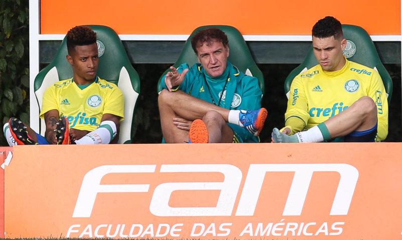 Moisés foi relacionado para o clássico contra o São Paulo. (Cesar Greco/Ag.Palmeiras/Divulgação)