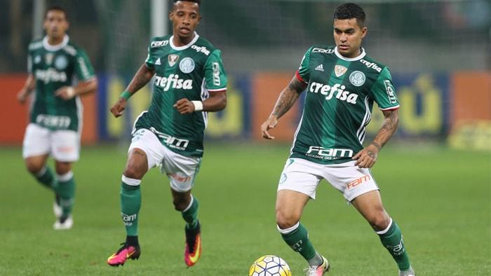 Verdão cedeu o empate aos visitantes e o placar terminou igualado em 2 a 2. (Cesar Greco/Ag.Palmeiras/Divulgação)