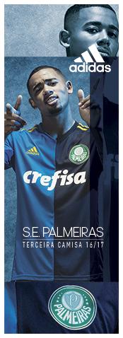 Compre a nova camisa três do Palmeiras para 2016