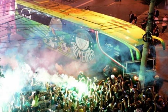 Torcida palmeirense promete nova festa para recepcionar o Palmeiras. (Divulgação)