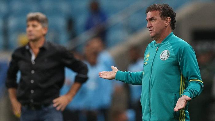 O técnico Cuca destacou o equilíbrio no segundo tempo. (Cesar Greco/Ag Palmeiras/Divulgação)
