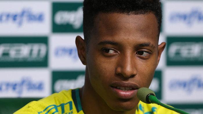 Tchê Tchê tem 22 partidas disputadas com a camisa do Palmeiras. (Cesar Greco/Ag.Palmeiras/Divulgação)
