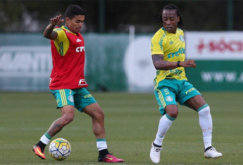 Após cumprir suspensão, Dudu volta a ser relacionado no Palmeiras. (Cesar Greco/Ag.Palmeiras/Divulgação)