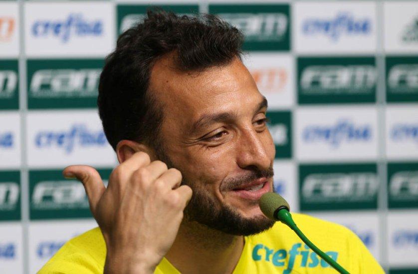 No Palmeiras desde o início da temporada, Dracena tem 24 jogos com a camisa alviverde. (Cesar Greco/Ag.Palmeiras/Divulgação)