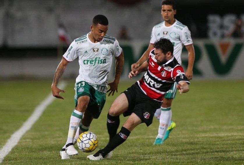 Gabriel Jesus foi convocado por Tite para a Seleção e desfalca o Verdão na próxima rodada. (Cesar Greco/Ag Palmeiras/Divulgação)
