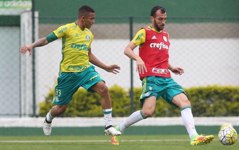 Gabriel Jesus deve retornar ao time após cumprir suspensão. (Cesar Greco/Ag.Palmeiras/Divulgação)