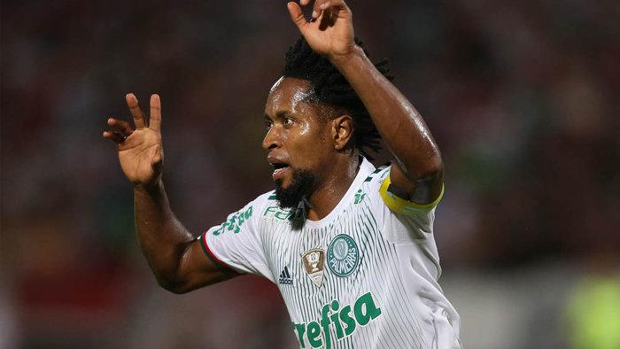 No Verdão desde 2015, Zé Roberto acumula 98 partidas com a camisa palestrina. (Cesar Greco/Ag Palmeiras/Divulgação)