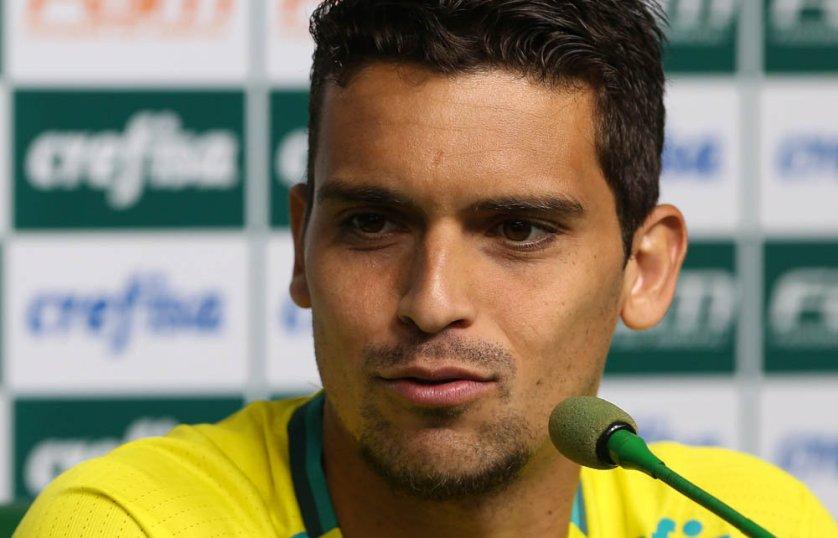 No Palmeiras desde o início do ano, Jean tem 50 jogos e 8 gols marcados pelo alviverde. (Cesar Greco/Ag.Palmeiras/Divulgação)
