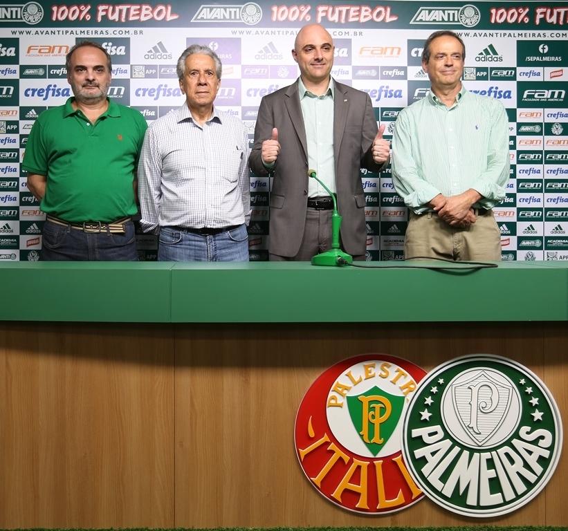 Maurício Galiotte assume a presidência no próximo mês. (Fabio Menotti/Ag.Palmeiras/Divulgação)