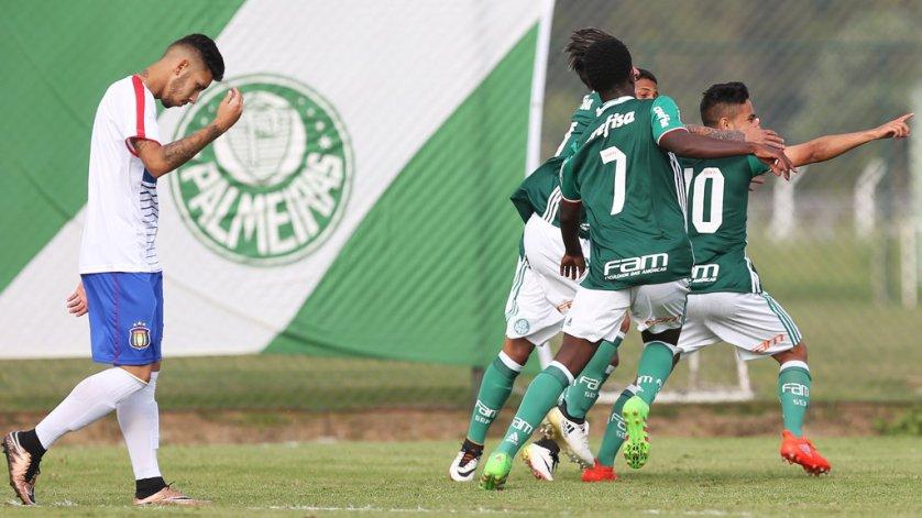 Verdão não perde há dez jogos no torneio estadual. (Fabio Menotti/Ag.Palmeiras/Divulgação)