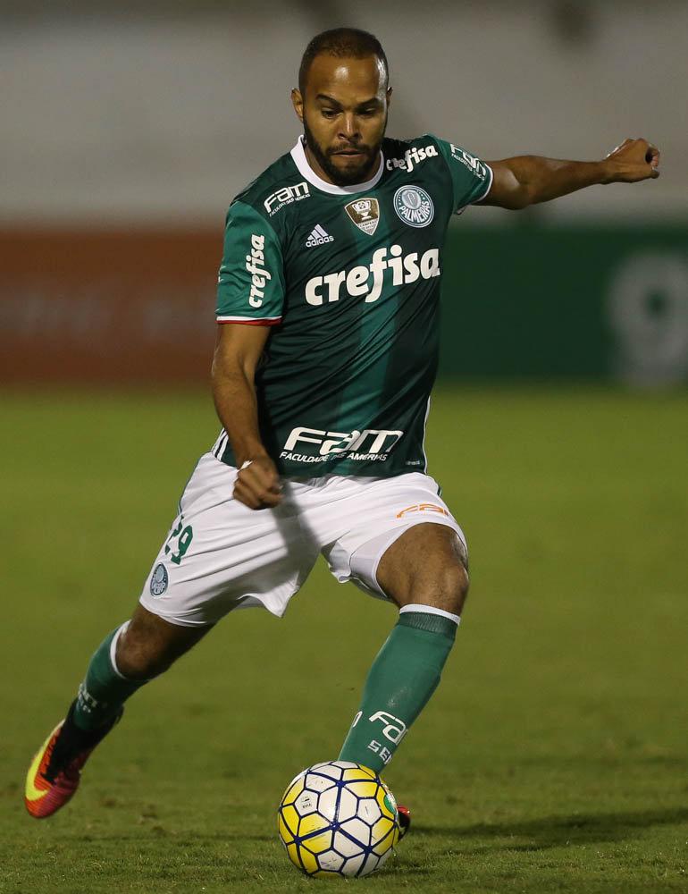 Com gol marcado contra o Vitória, foi o 100º de Alecsandro em Campeonatos Brasileiros. (Cesar Greco/Ag.Palmeiras/Divulgação)