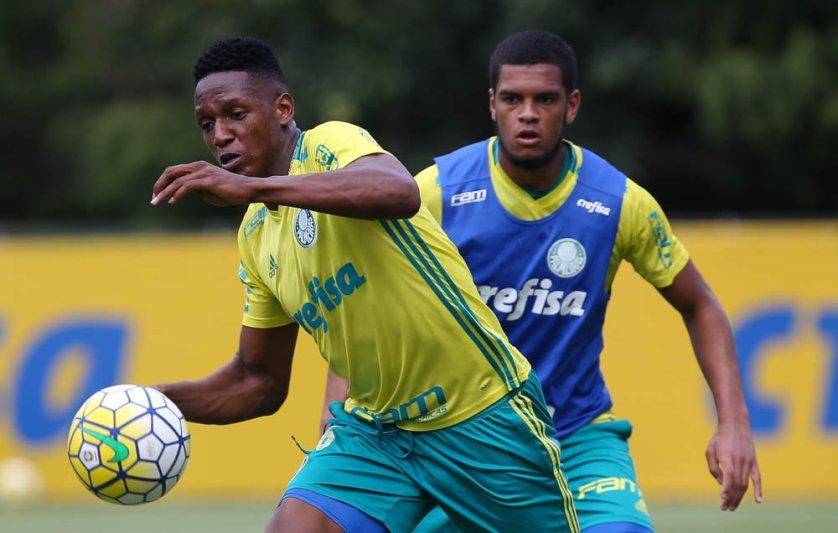 Elenco palmeirense segue preparação para última partida da temporada. (Cesar Greco/Ag.Palmeiras/Divulgação)