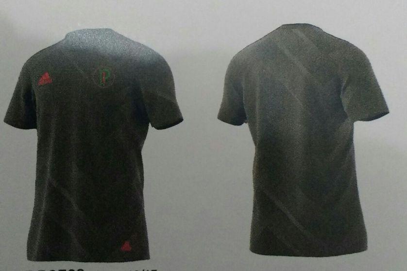 Imagem da suposta camisa pré jogo para a nova temporada. (Reprodução)