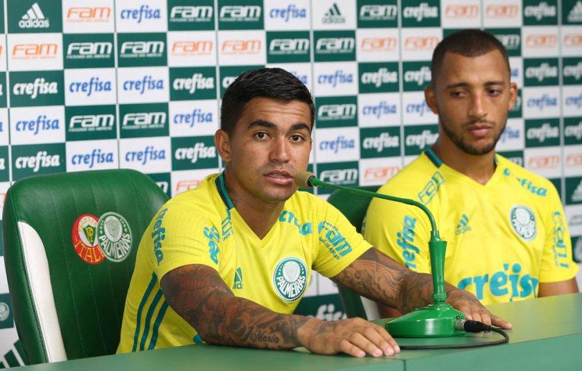 Dudu foi decisivo nos dois últimos títulos do Verdão: a Copa do Brasil 2015 e o Brasileirão 2016. (Cesar Greco/Ag.Palmeiras/Divulgação)