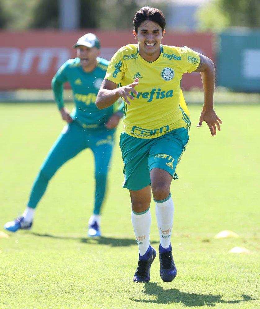 Elenco palestrino segue preparação para novo teste de pré-temporada. (Cesar Greco/Ag.Palmeiras/Divulgação)