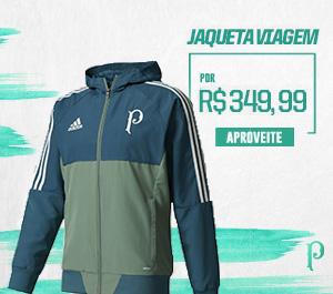 Compre a nova jaqueta de viagem do Verdão!