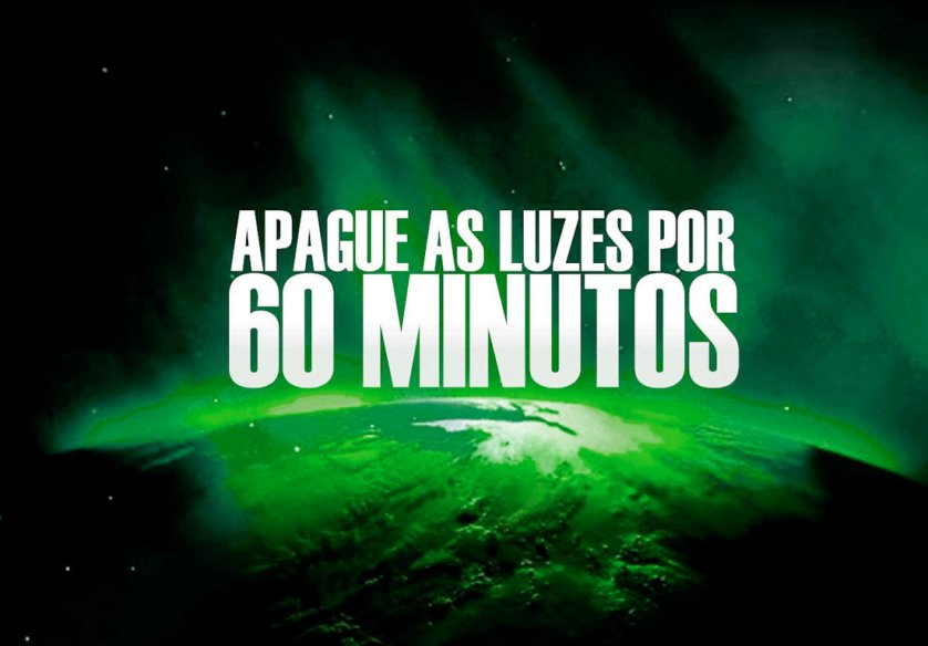 No sábado, Allianz Parque apagará luzes do letreiro na Hora do Planeta. (Divulgação)