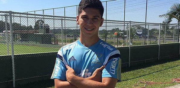 Vindo do O'Higgins-ChI, Diego González é o novo reforço para o Sub-20 do Palmeiras. (O'Higgins/Divulgação)