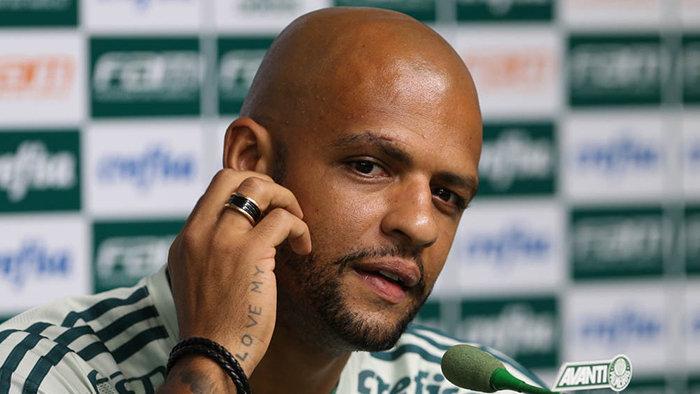 Felipe Melo tem 15 jogos pelo Verdão e um gol. (Cesar Greco/Ag. Palmeiras/Divulgação)