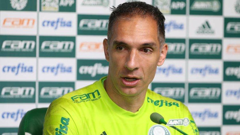 Prass reconhece que o resultado é difícil, mas acredita na virada do Verdão. (Cesar Greco/Ag Palmeiras/Divulgação)