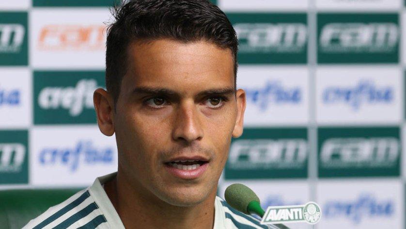 Jean acredita que a questão psicológica pode decidir o jogo no Uruguai. (Cesar Greco/Ag Palmeiras/Divulgação)