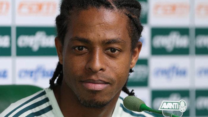 Keno é o jogador com mais dribles completados no Paulistão. (Cesar Greco/Ag Palmeiras/Divulgação)