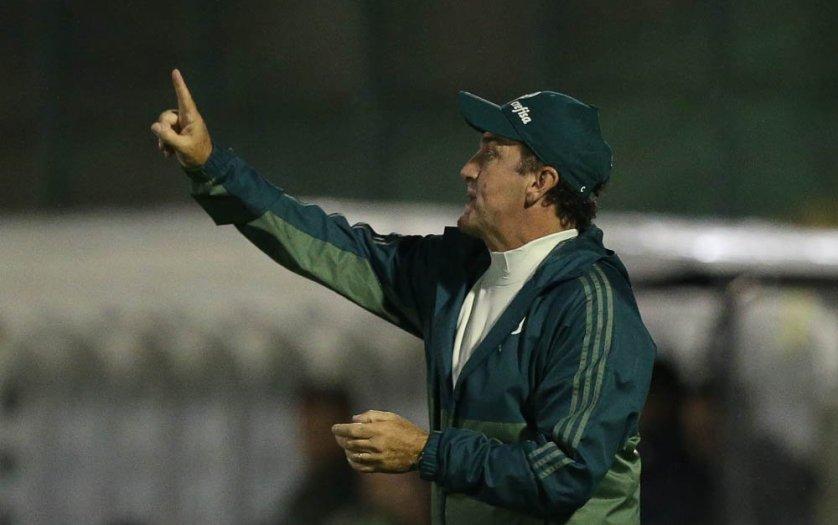 o técnico Cuca comentou sobre a apresentação do Verdão neste fim de semana. (Cesar Greco/Ag. Palmeiras/Divulgação)