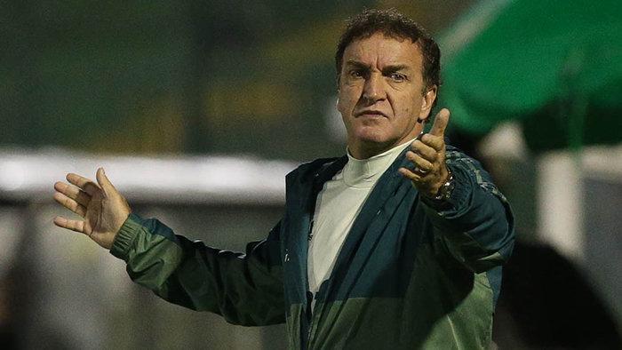 Cuca negou que revés diante da Chapecoense ocorreu por uma falta de entrosamento. (Cesar Greco/Ag Palmeiras/Divulgação)