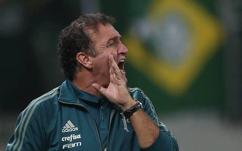 O técnico Cuca fez as suas observações após o duelo contra o Atlético Tucumán. (Cesar Greco/Ag Palmeiras/Divulgação)