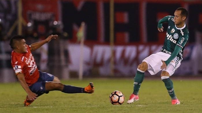 Fora de casa, Palmeiras foi superado pelo Jorge Wilstermann-BOL na Libertadores. (Cesar Greco/Ag. Palmeiras/Divulgação)