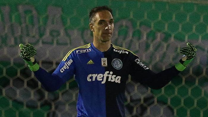Para o goleiro Fernando Prass, o duelo com a Chapecoense foi decidido nos detalhes. (Cesar Greco/Ag Palmeiras/Divulgação)