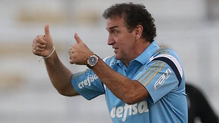 Cuca valorizou o resultado e projetou a evolução da equipe no Campeonato Brasileiro. (Cesar Greco/Ag Palmeiras/Divulgação)