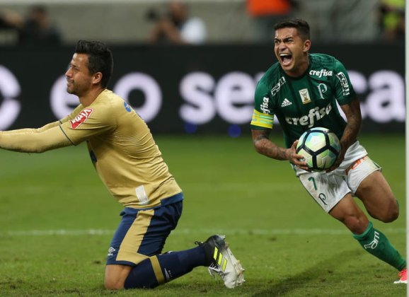 Com gol 150 do Allianz Parque, Dudu e entra para top10 de artilheiros