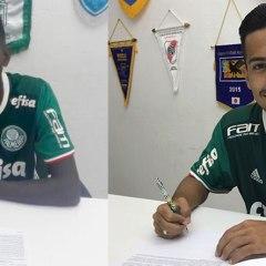 Destaques do Sub-17, Alan e Vitão renovam contrato com o Palmeiras