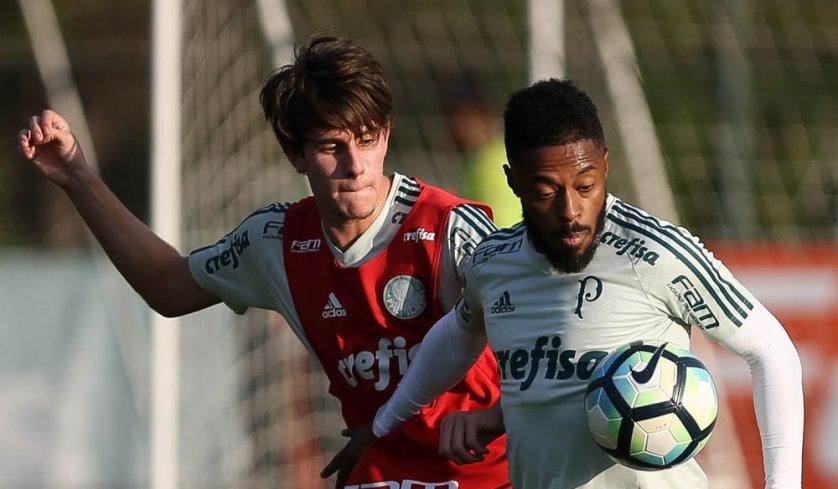 Verdão se reapresentou com treino técnico na Academia de Futebol. (Cesar Greco/Ag Palmeiras/Divulgação)